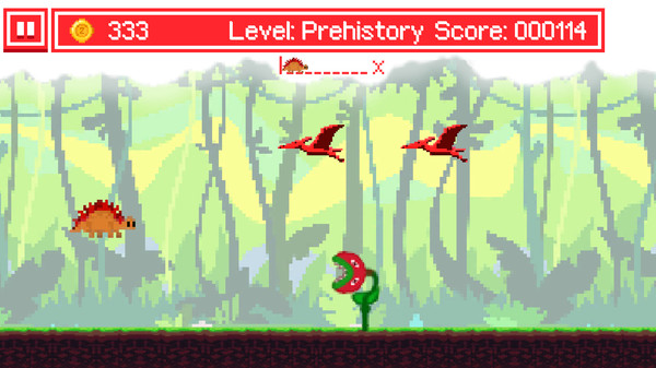 Ancient_Dino_Runner游戏最新中文版《古代恐龙赛跑》
