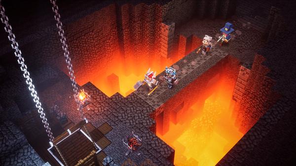 Скриншот №1 к Minecraft Dungeons