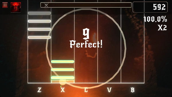 Rhythmetallic Screenshot 4