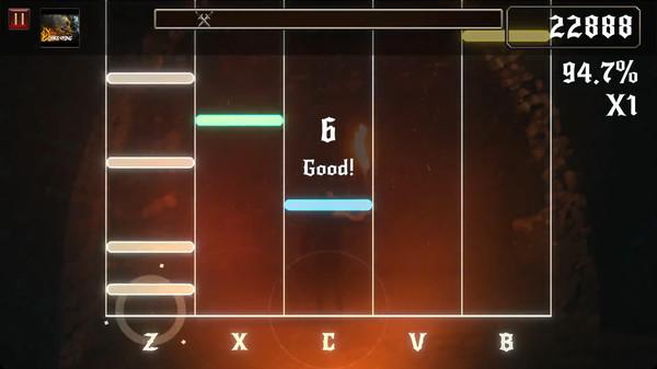 Rhythmetallic Screenshot 5