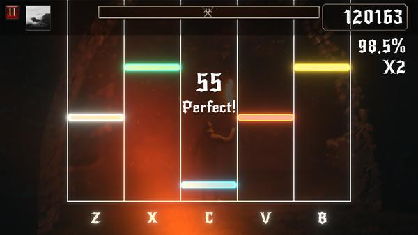 Rhythmetallic Screenshot 1