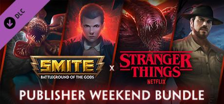 SMITE x Stranger Things Publisher Weekend Bundle