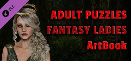 Adult Puzzles - Fantasy Ladies ArtBook