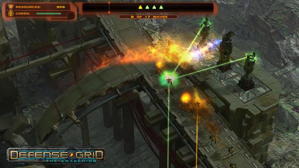 Screenshot of Defense Grid: The Awakening