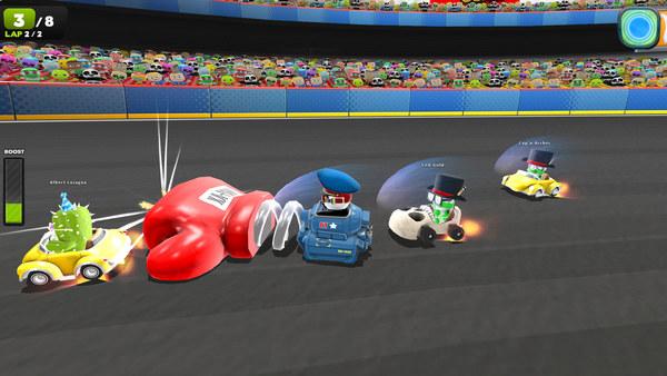 скриншот Zero Gear 2