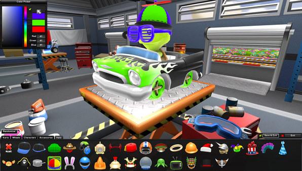 скриншот Zero Gear 1