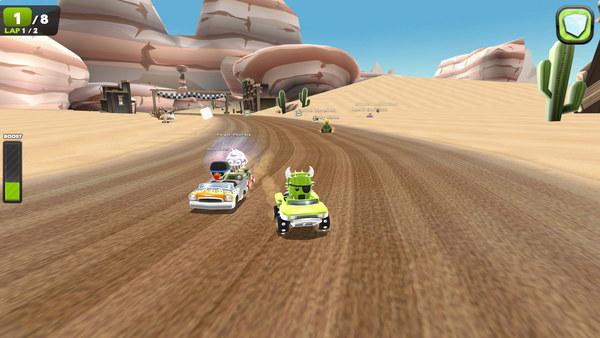 скриншот Zero Gear 5