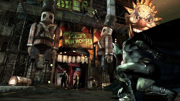 Скриншот №6 к Batman Arkham City - Game of the Year Edition