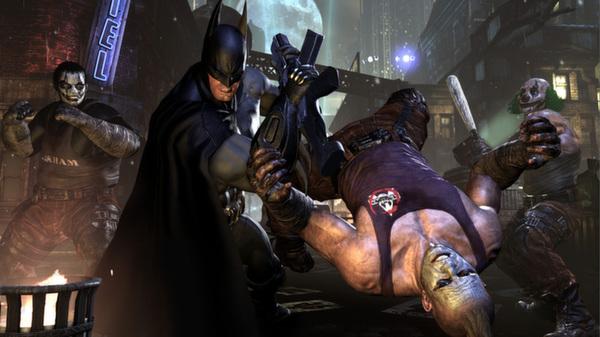 Скриншот №1 к Batman Arkham City - Game of the Year Edition