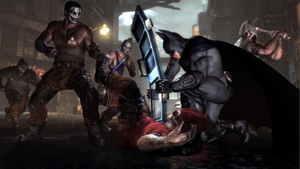Скриншот №2 к Batman Arkham City - Game of the Year Edition