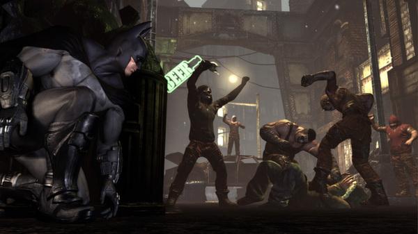 Скриншот №3 к Batman Arkham City - Game of the Year Edition