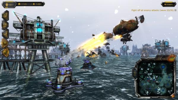 скриншот Oil Rush Tower Defense Map Pack 3
