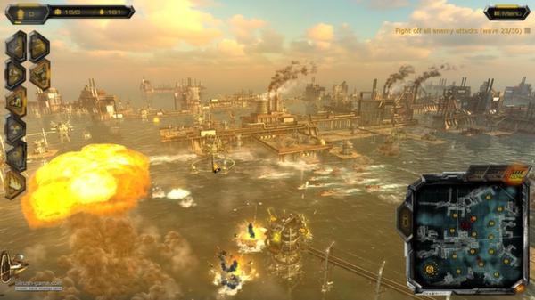 скриншот Oil Rush Tower Defense Map Pack 2