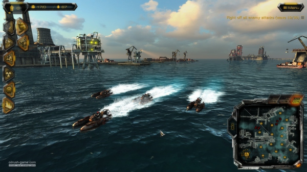 скриншот Oil Rush Tower Defense Map Pack 0