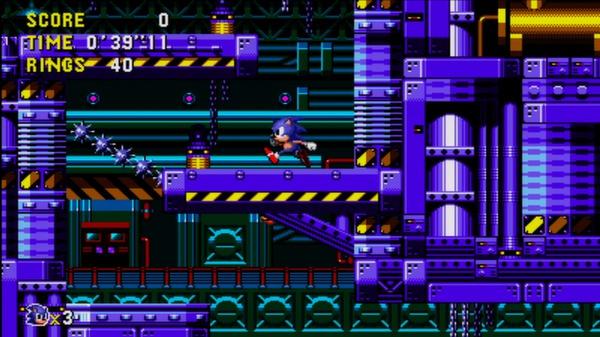 скриншот Sonic CD 2