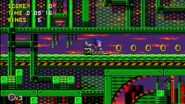 скриншот Sonic CD 0