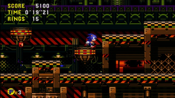 скриншот Sonic CD 5