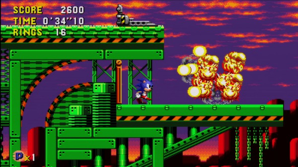Sonic CD скриншот
