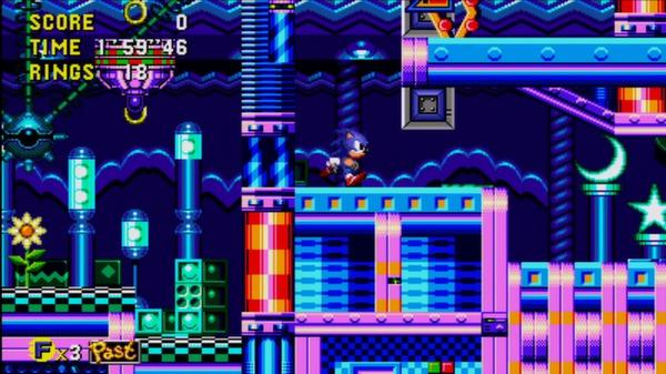 скриншот Sonic CD 4