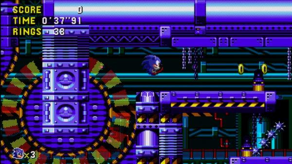 скриншот Sonic CD 1