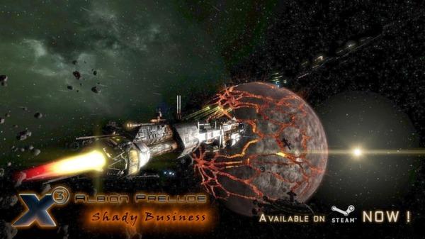 скриншот X3: Albion Prelude 1