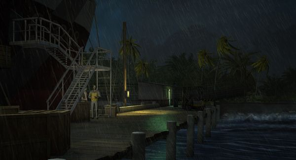 Jurassic Park: The Game скриншот