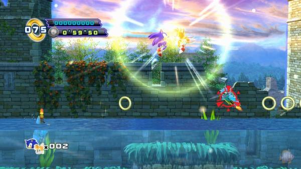 Скриншот №4 к Sonic the Hedgehog 4 - Episode II