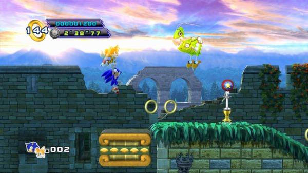 Скриншот №7 к Sonic the Hedgehog 4 - Episode II