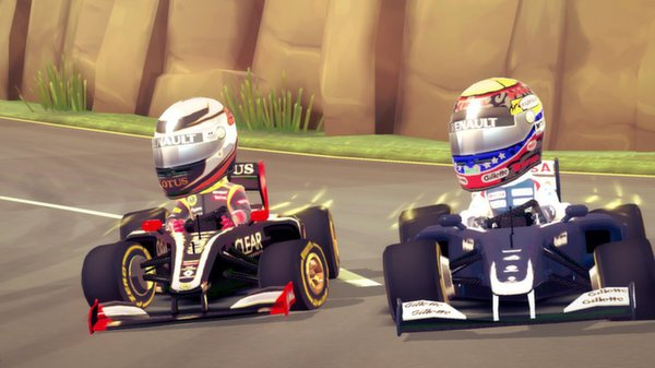 F1 RACE STARS скриншот