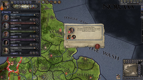 Crusader Kings II скриншот