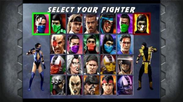 Скриншот №5 к Mortal Kombat Kollection