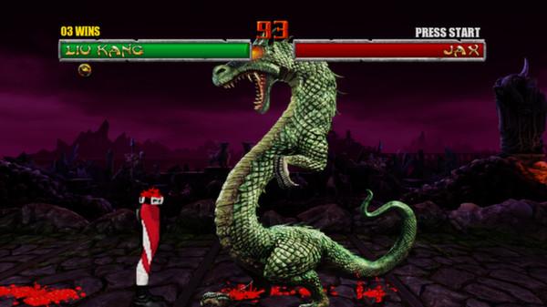 Скриншот №3 к Mortal Kombat Kollection