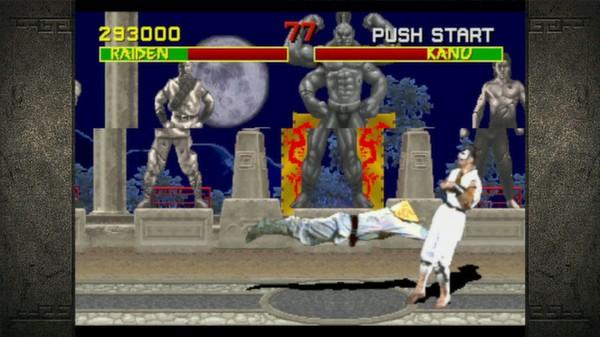 Скриншот №1 к Mortal Kombat Kollection
