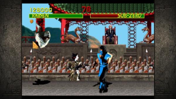 Скриншот №2 к Mortal Kombat Kollection
