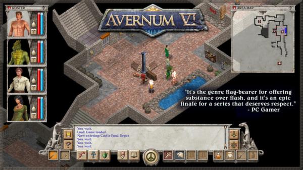 Avernum 6 screenshot