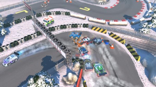 скриншот Bang Bang Racing 4
