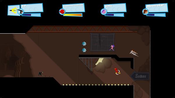 Скриншот №2 к SpeedRunners