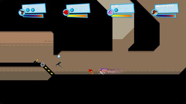 Скриншот №1 к SpeedRunners