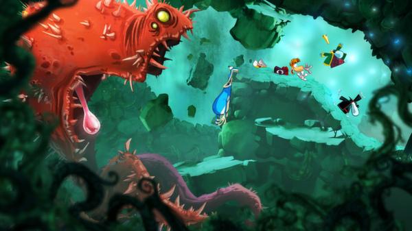 Rayman Origins скриншот