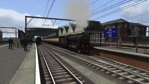 скриншот Thompson Class B1 Loco Add-On 5