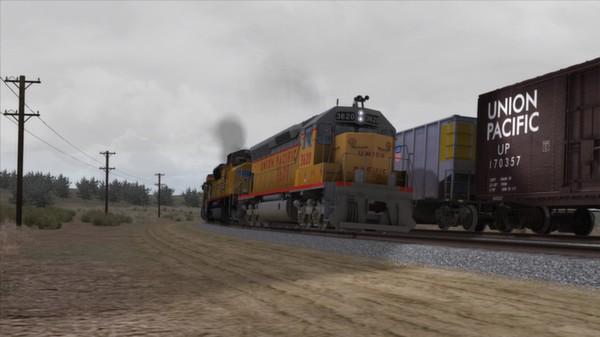 скриншот Union Pacific SD45 Loco Add-On 2