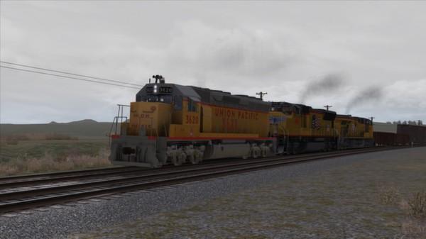 скриншот Union Pacific SD45 Loco Add-On 3