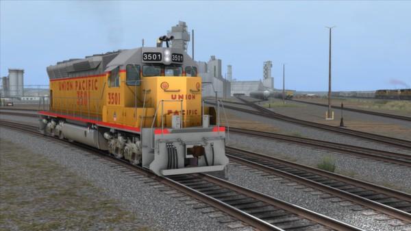 скриншот Union Pacific SD45 Loco Add-On 0