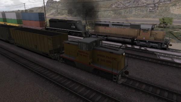 скриншот UP GE 44 Loco Add-On 5