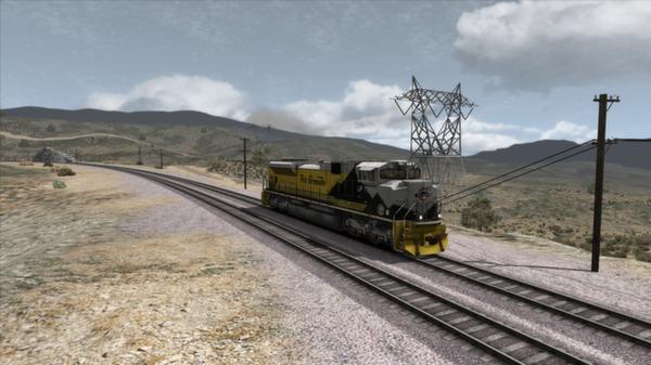 скриншот Union Pacific SD70Ace Loco Add-On 4