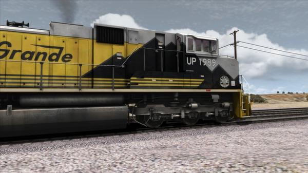 скриншот Union Pacific SD70Ace Loco Add-On 3