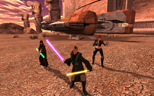 скриншот Star Wars: Knights of the Old Republic II - The Sith Lords 1