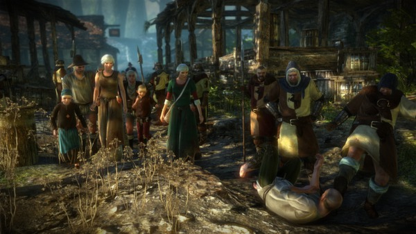 Скриншот №4 к The Witcher 2 Assassins of Kings Enhanced Edition