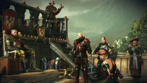 Скриншот №3 к The Witcher 2 Assassins of Kings Enhanced Edition