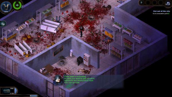 Скриншот №2 к Alien Shooter 2 Conscription